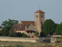 Eglise - English: Fevrey-Chambertin church, Burgundy, FRANCE