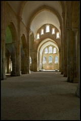 Abbaye de Fontenay - La nef