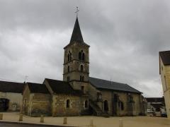 Eglise - English: Marmagne's church, Côte d'Or, France