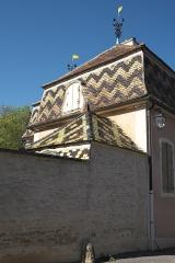 Château - Deutsch: Schloss in Monthelie im Département Côte-d'Or (Bourgogne-Franche-Comté/Frankreich)
