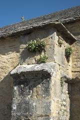 Eglise Saint-Germain d'Auxerre - Deutsch: Kirche Saint-Germain-d'Auxerre in Monthelie im Département Côte-d'Or (Bourgogne-Franche-Comté/Frankreich), Strebepfeiler