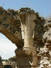 Château de Montfort (ruines) -  Cul-de-lampe du château de Montfort