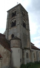 Eglise - English: Mont-Saint-Jean church,  Burgundy, FRANCE
