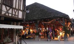 Halle aux grains - English: Chrismas market