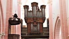 Eglise Saint-Symphorien - Nuits-Saint-Georges (Côte-d'Or, France), église Saint-Symphorien, orgue construit en 1741 par Étienne Tourneur, transformé en 1787 par Bénigne Boillot et Maret.