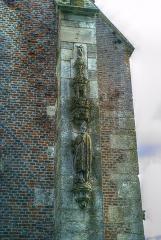 Château - Sculptures, Chapelle castrale, Pagny-le-Château (Côte d'Or, Bourgogne, France)
