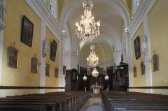 Eglise - Deutsch: Katholische Pfarrkirche Saint-Philippe-et-Saint-Jacques in Pommard im Département Côte-d'Or (Bourgogne-Franche-Comté/Frankreich), Innenraum