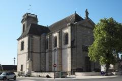Eglise - Deutsch: Katholische Pfarrkirche Saint-Philippe-et-Saint-Jacques in Pommard im Département Côte-d'Or (Bourgogne-Franche-Comté/Frankreich)