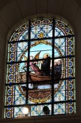 Eglise - Deutsch: Katholische Pfarrkirche Saint-Philippe-et-Saint-Jacques in Pommard im Département Côte-d'Or (Bourgogne-Franche-Comté/Frankreich), Bleiglasfenster
