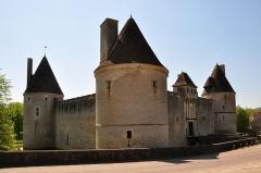 Château - Deutsch: Schloss Posanges in Burgund, Nordost-Ansicht