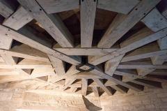 Château - English: Wood frame in Château de Posanges, France.