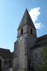 Eglise Saint-Georges - Deutsch: Katholische Pfarrkirche Notre-Dame-de-la-Nativité, früher Saint-Georges, in La Rochepot im Département Côte-d'Or (Bourgogne-Franche-Comté/Frankreich)
