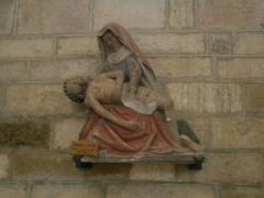 Eglise - Rouvres-en-Plaine Vierge de pitié