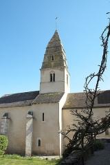 Eglise - Deutsch: Katholische Kirche Saint-Aubin in Saint-Aubin im Département Côte-d'Or (Bourgogne-Franche-Comté/Frankreich)