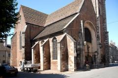 Eglise - Deutsch: St.-Jean-Baptiste, Schiff Langhaus von NO