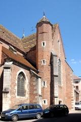Eglise - Deutsch: St.-Jean-Baptiste, Langhaus von NW