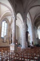 Eglise - Deutsch: St.-Jean-Baptiste, südliches Seitenschiff