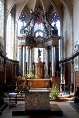 Eglise - Deutsch: St.-Jean-Baptiste, Hauptaltar