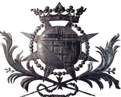 Château de la Romagne -  Armes de du Hamel
