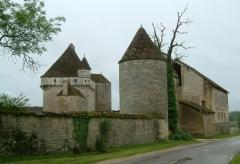 Château de Rosières - English: Rosières castle, Fontaine-Française, Burgundy, FRANCE.