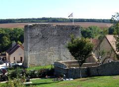 Donjon - English: Salives, Burgundy, FRANCE