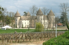 Château et petit château - Français:   le château de Savigny-lès-Beaune