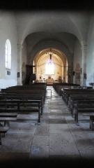 Eglise - Français:   Eglise de Savoisy (Côte-d\'Or): intérieur