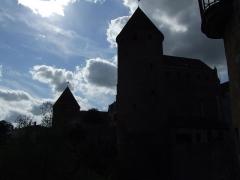 Château - English: Tours de Semur-en-Auxois, Semur-en-Auxois,  Burgundy, FRANCE