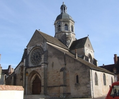 Eglise - English: Seurre, Burgundy, FRANCE