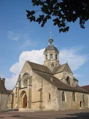 Eglise -  Seurre - l'église du XIV° siècle (Bourgogne - France - 21) self made PRA