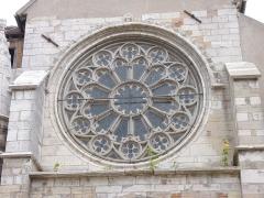 Eglise - English: Church of Seurre (Côte d'Or, Burgundy, France)