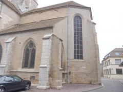 Eglise - English: Church of Seurre (Côte d'Or, Burgundy, France)