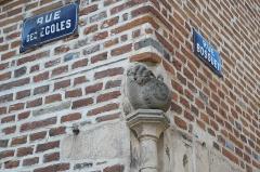 Maison Bossuet - Deutsch: Maison Bossuet in Seurre im Département Côte-d'Or (Bourgogne-Franche-Comté/Frankreich), Skulptur einer Schnecke
