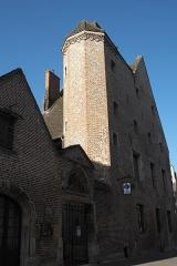 Maison Bossuet - Deutsch: Maison Bossuet in Seurre im Département Côte-d'Or (Bourgogne-Franche-Comté/Frankreich)