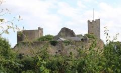 Château de Thil (ruines) -  Butte de Thil, Vic-sous-Thil, Côte-d'Or, Bourgogne, France
