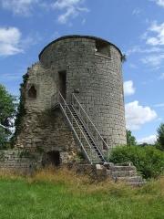 Château - Français:   Château de Villaines-en-Duesmois, Côte-d\'Or, Bourgogne, FRANCE