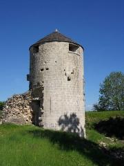 Château - Français:   Château de Villaines-en-Duesmois, (XIIIe siècle, propriété de Robert de Tanlay, acquis en 1253 par le duc de Bourgogne Hugues IV de Bourgogne), Côte-d\'Or, Bourgogne, FRANCE