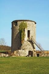 Château - Français:   Tour est du château ducal de Villaine-en-Duesmois