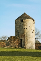 Château - Français:   Tour sud du château ducal de Villaine-en-Duesmois