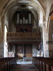 Eglise Saint-Germain d'Auxerre - English: Organ, Saint-Germain d'Auxerre church of Vitteaux, Vitteaux,  Burgundy, FRANCE