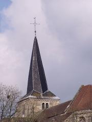 Eglise Saint-Germain d'Auxerre -  Clocher tors de l'église Saint-Germain de Vitteaux en Côte-d'Or, Bourgogne. France