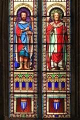 Eglise Saint-Germain d'Auxerre - Vitraux de Saint-Germain dans l'église de Vitteaux