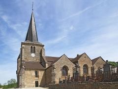 Eglise Saint-Germain d'Auxerre - Église Saint-Germain-d'Auxerre de Vitteaux