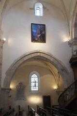 Eglise - Deutsch: Katholische Kirche Saint-Cyr-et-Sainte-Julitte in Volnay im Département Côte-d'Or (Bourgogne-Franche-Comté/Frankreich), Innenraum