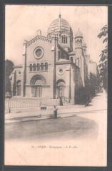 Synagogue -  Die Synagoge von Dijon