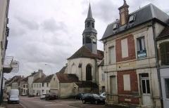 Eglise Saint-Jean - Français:   Eglise Saint-Jean à Châtillon-sur-Seine