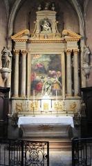 Eglise Saint-Jean - Français:   Retable de l\'église Saint-Jean de Châtillon-sur-Seine (Côte-d\'Or)