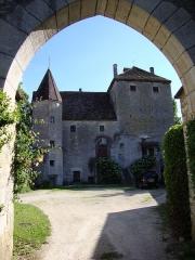 Château de Gamay - English: Saint-Aubin (Côte-d'Or, Fr) Château de Gamay