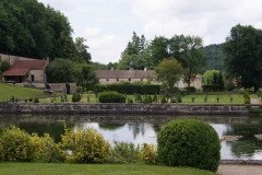 Abbaye du Val des Choux -  Cistercian Monastery, founded 1193, buildings 17th century, gardens redesigned 1990 in line with old documents.