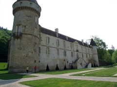 Château - English: Bazoches castle, Bazoches, Nievre, Burgundy, FRANCE